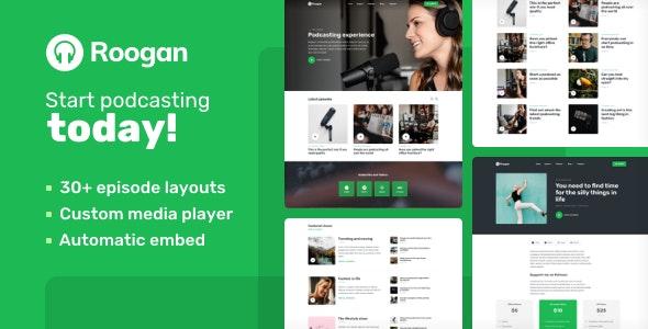 Roogan WordPress Theme